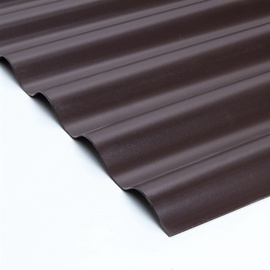 LAINEPLAAT PVC SINUS 0,9X2,0M PRUUN