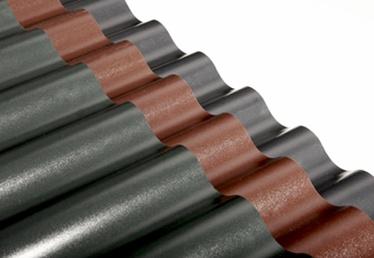 LAINEPLAAT PVC SINUS 0,9X2,0M ROHELINE