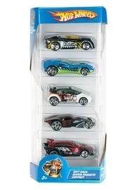 """Žaislinių automobilių rinkinys """"Hot Wheels"""", 5 automobiliai, įvairūs dizainai"""