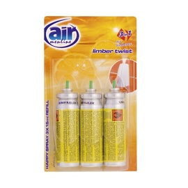 "Oro gaiviklis ""Happy Spray"" Air Menline Limber Twist, 3 x 15 ml"