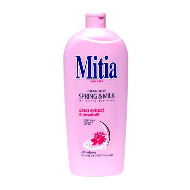 """Skystasis muilas """"Mitia"""", lotosų aromato"""