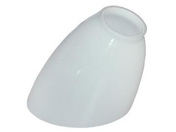 Lampas kupols, 7.5x7.5x11.5 cm, balts