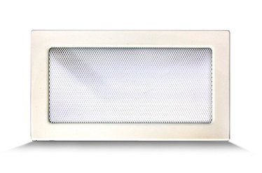 Kaminarest raamiga Flammifera, 30x17 cm, valge