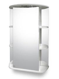 """Pakabinamoji vonios spintelė """"Riva"""" SV55-1, su veidrodžiu"""