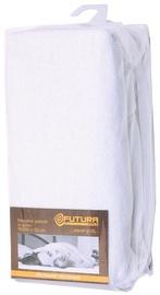 "Paklodė su guma ""Futura"", 200 x 200 cm, balta"