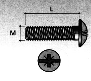 MÖÖBLIPOLT M4X45