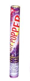 Pauškutis Poper, spalvotas konfeti, 40 cm ilgio