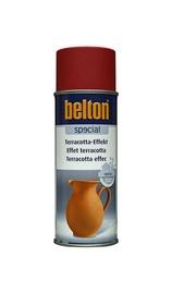 Aerosola krāsa Belton māla imitācijai, 400ml, sarkana