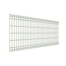 Segmentinė tvora, žalia, 3,5/3,8 x 200 x 50 x 1030 mm