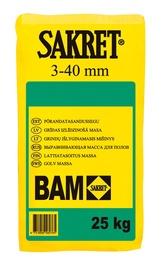 Išlyginamasis mišinys grindims BAM, 3-40 mm, 25 kg