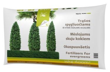 Spygliuočių ir visžalių augalų trąšos Baltic Agro, 15 kg