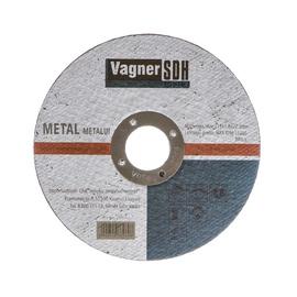 "PJOVIMO DISKAS PLIENUI PJAUTI (115X1,6X22,23 mm; ""VAGNER"") (VAGNER SDH)"