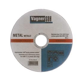 Lõikeketas Vagner SDH, 125x1,0x22 mm, metall
