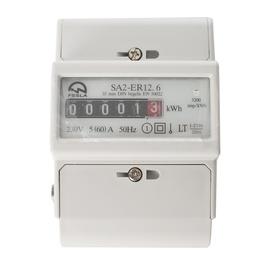 Elektros skaitiklis Fesla EL SA2-ER12.6, 5–60 A, 1 fazės, DIN