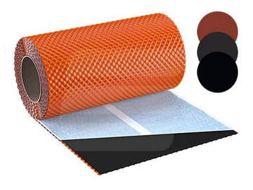 Skārda skursteņa lente Flex3D, sarkana