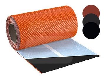 Skārda skursteņa lente Flex3D, melna