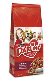 Koeratoit Darling liha ja juurviljadega, 15 kg