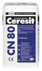 Lyginamasis sluoksnis CN80 10, 80 mm, 25 kg