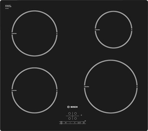 Iebūvējamā indukcijas plīts virsma Bosch PIE611B18E 51x59,2x52,2cm, 4600W
