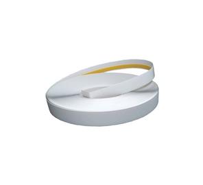 PVC juosta, 50x1,5 mm, 50 m, su lipniąja juostele