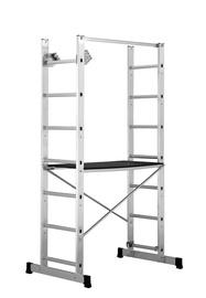 Kopėčios-pastolis Multi, 0,95 m pastolis / 2x7 kopėčios
