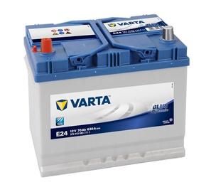 Akumuliatorius Varta BD E24, 70AH 630A EN 12V
