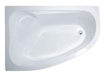 Vonia Thema Lux, 170x100x55 cm, akrilas, dešininė