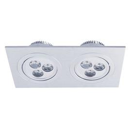 Iebūvējams gaismeklis Vagner SDH T0025 LED, 230V, 2X3W