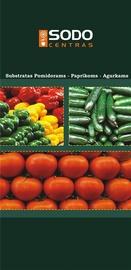 Pomidorų, paprikų, agurkų durpių substratas Sodo centras, 20 l