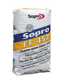 Klinkerinių plytelių klijai Sopro FF457, 25 kg