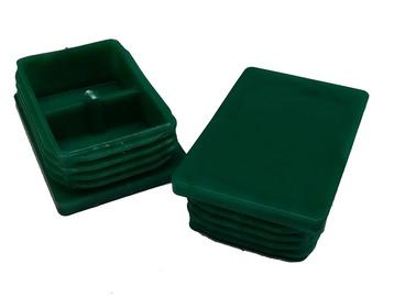 Kepurėlė, žalia, 60 x 40 mm, 1 vnt.