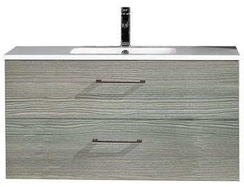 Vonios spintelė su praustuvu Novito YBC141-100