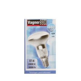 Halogeenlamp Vagner SDH E14, 42 W, 30°