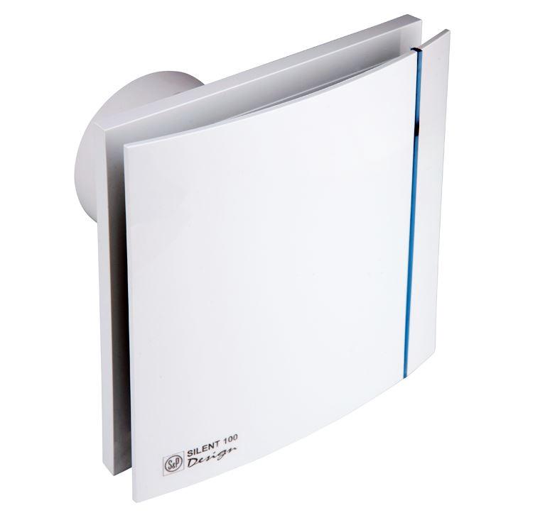 """Ištraukiamasis ventiliatorius """"S & P"""" Design, 100 CZ"""