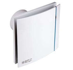 """Ištraukiamasis ventiliatorius """"S & P"""" Silent Design, 100 CRZ"""