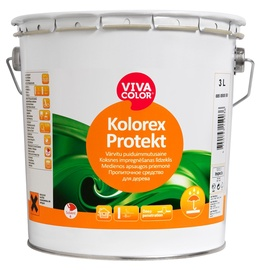 Medienos apsaugos priemonė Vivacolor Kolorex Protekt, 3 l