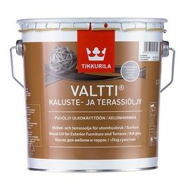 Mööbli- ja terassiõli Valtti, hall 2,7L