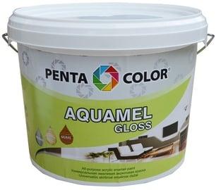 "Dažai ""Pentacolor"" Aquamel, balti, blizgūs, 3 kg"
