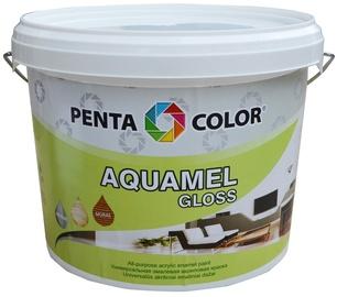 Dažai PENTACOLOR, AQUAMEL, Tamsaus palisandro spalvos, blizgūs, 3 kg