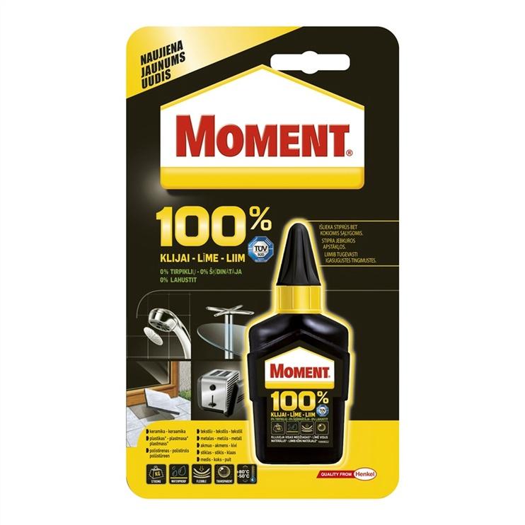 Universalūs klijai Moment, 100 %, 50 g