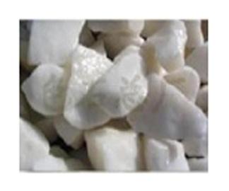 Dekoratyvinis akmuo, baltas