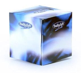 "Kosmetinės servetėlės ""BulkySoft"" Cube, 60 vnt"