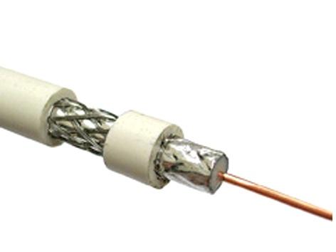 Televizijos kabelis Vagner SDH RG-6, 1,02 mm, FE-CU, 64, AL