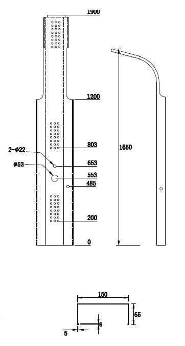 Dušas komplekts Futura TR-902