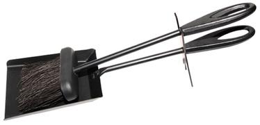"""Židinio įrankių rinkinys """"Flammifera"""" 54B-A, 2 dalių, juodi"""