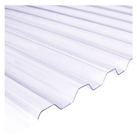 Laineplaat Salux PVC, trapets 0.7x900x2000mm, läbipaistev