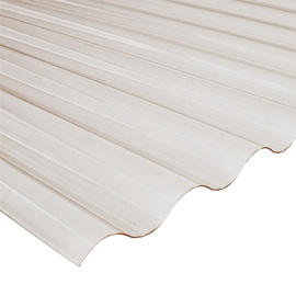 Laineplaat PVC Sinus 0,9x2,0m hall