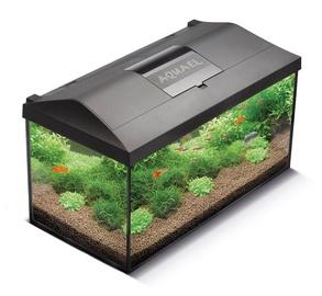 """Stiklinis stačiakampis akvariumas su įranga """"Aquael"""", 112 l"""