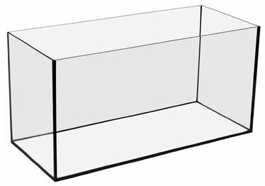 "Stiklinis stačiakampis akvariumo indas ""Aquael"", 54 l"