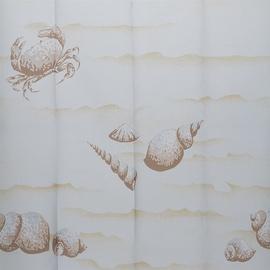 Vonios užuolaida Gedy Conchigle 6018 7715, 180x200 cm
